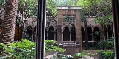 barrio gotico barcelona iglesia santa ana