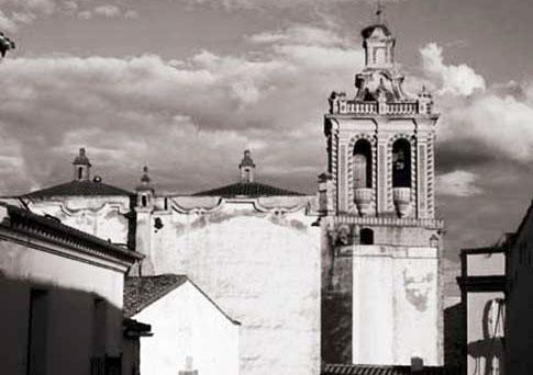 foto antigua Iglesia de San Bartolomé en Feria