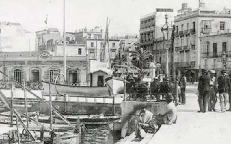 Imagen antigua del Puerto de Cartagena