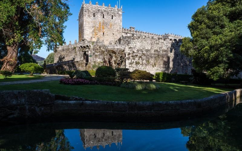 Imagen del Castillo de Soutomaior