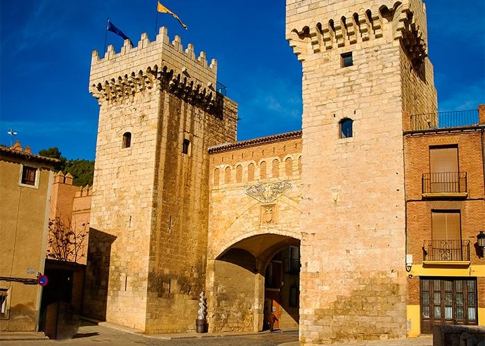 La Puerta Baja, principal entrada a la ciudad de Daroca