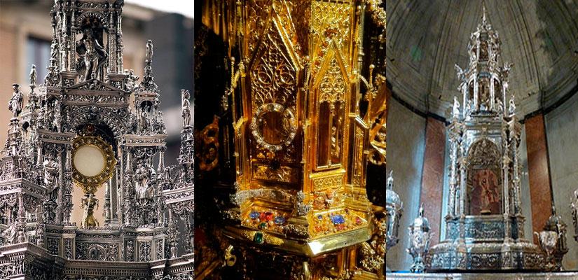 Imagen_blog_arte-y-arquitectura_Las-piezas-mas-importantes-de-la-orfebrería-española---las-Custodias2