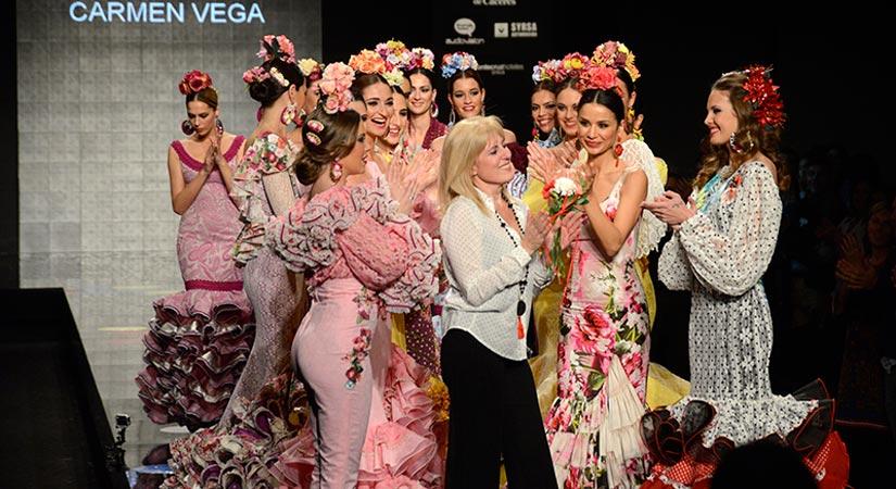 Maria Carmen Vega Bernal modista flamenca