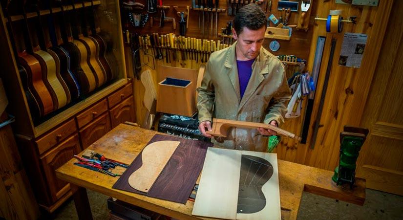 luthier Alberto Martin Ramos