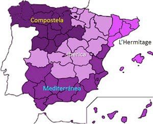 Imagen_blog_entendiendo-españa_Marcelino-Champagnat-y-su-buena-semilla-en-España_mapa_maristas_espagna