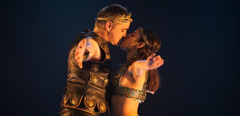 cleopatra cesar teatro bellas artes