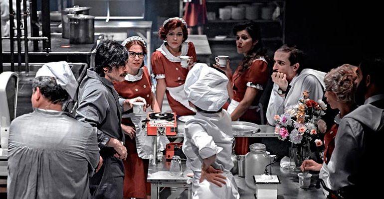 """APABULLANTE """"La Cocina"""" de Arnold Wesker"""