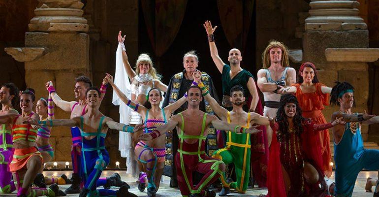 """Sorprendente """"Musical Hércules"""" en el Teatro La Latina"""