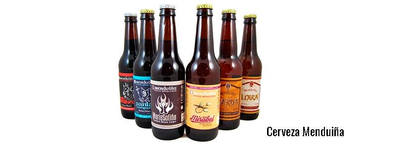 cervezas artesanales menduina