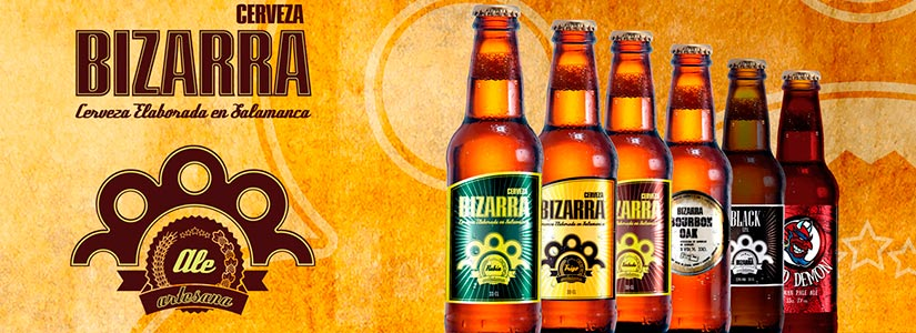 cervezas artesanales bizarra salamanca
