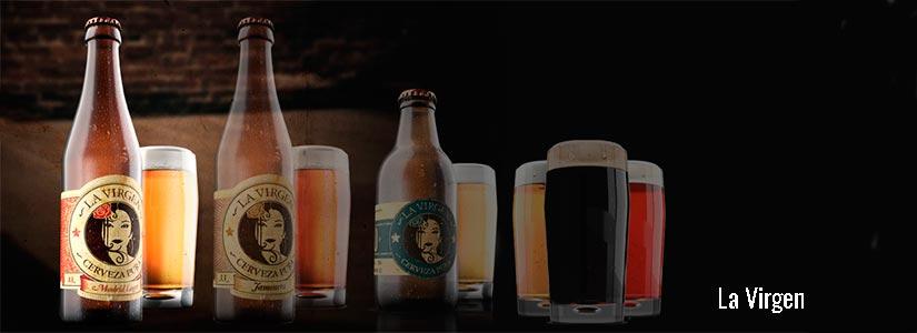 cervezas artesanales la virgen