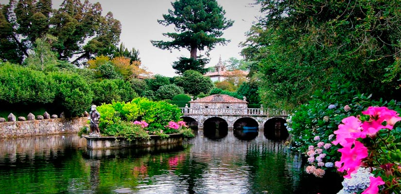 Plan romantico jardines camelias pazo oca
