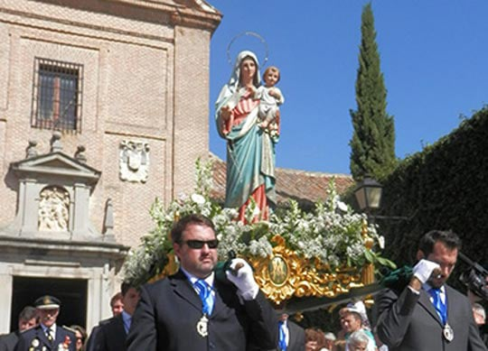 virgen rosario