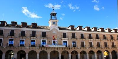 plaza mayor ocana