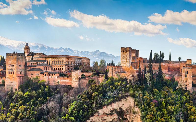Palacio de La Alhambra en Granada