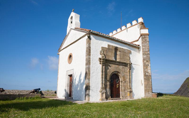 Ermita Virgen de la Guía en Ribadesella