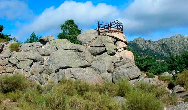 mirador Siete Picos Navacerrada Cuenca Guadarrama Valle Cuelgamuros Pico Abantos