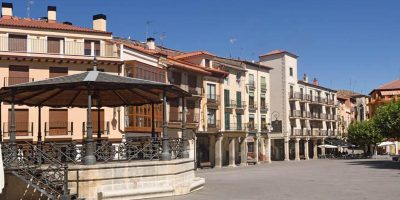 Panorámica de la Plaza Mayor de Aranda de Duero