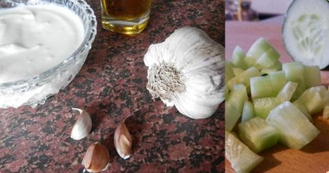 ingredientes salsa griega yogur