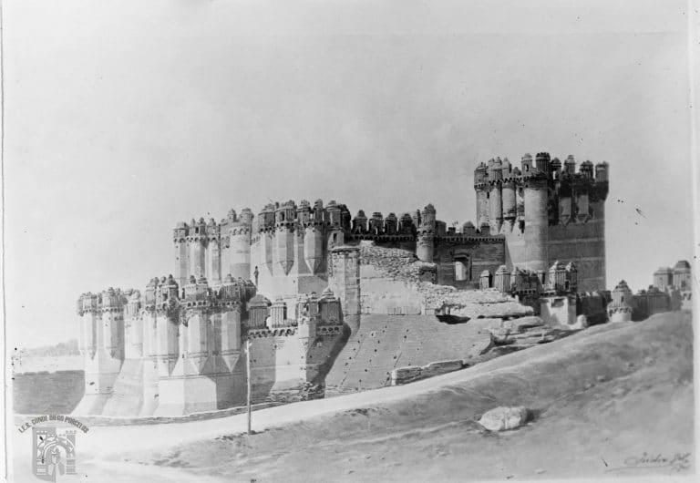 castillo de coca foto antigua