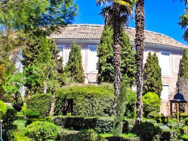 Jardín de la Real Fábrica de Paños