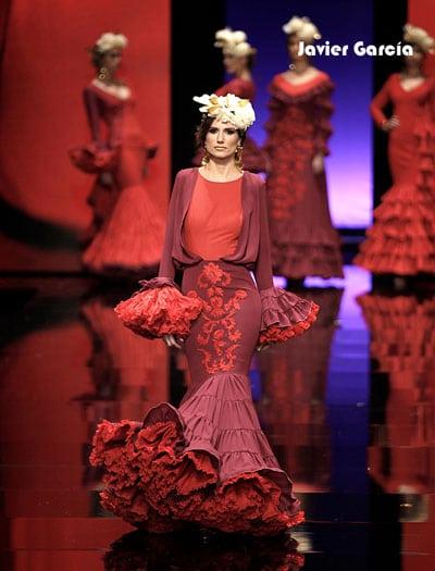 moda flamenca SIMOF Javier gargía