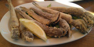 comer pescadito frito rompido restaurante almadraba