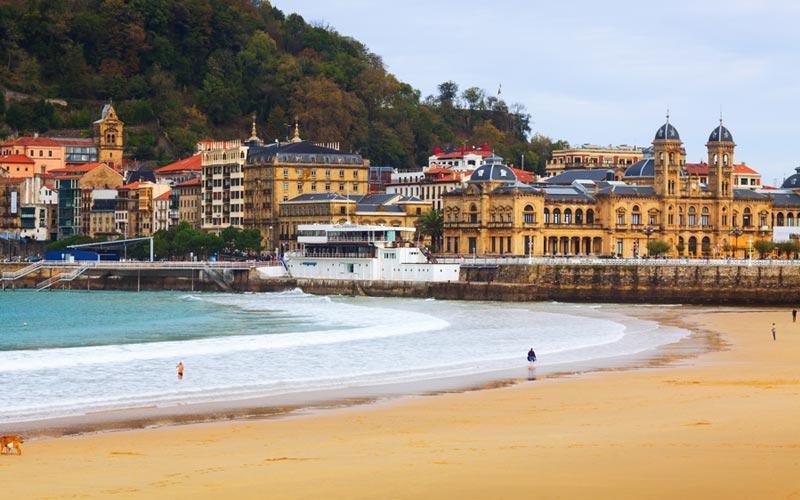 Playa concha San Sebastián