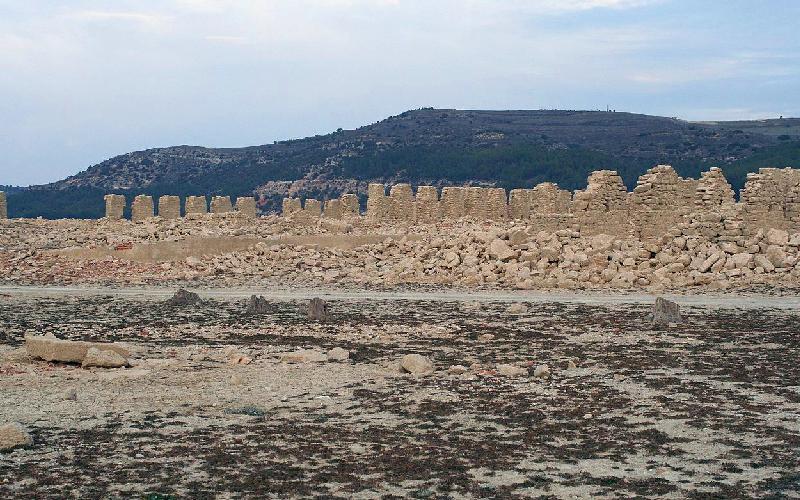 Ruinas del Real Sitio de La Isabela, en Buendía