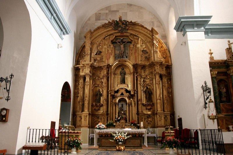 Retablo mayor de la iglesia de la Asunción