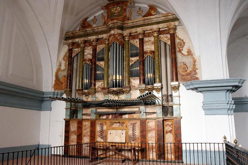 Órgano barroco de La Seca