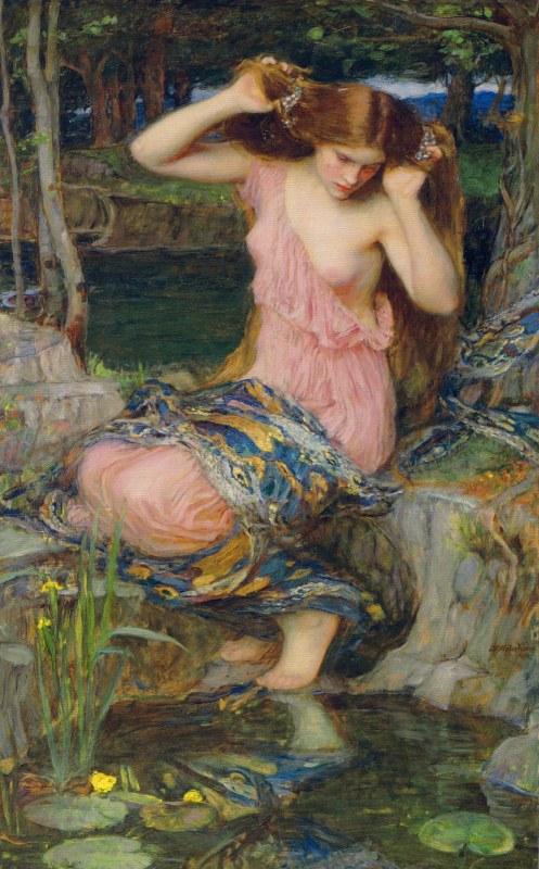 Lamia figura mitológica relacionada con la Anjana