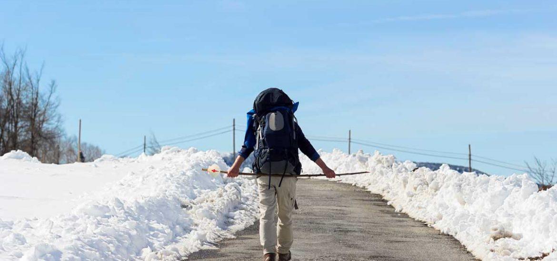Invierno caminante santiago