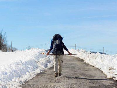 El Camino de Santiago en invierno