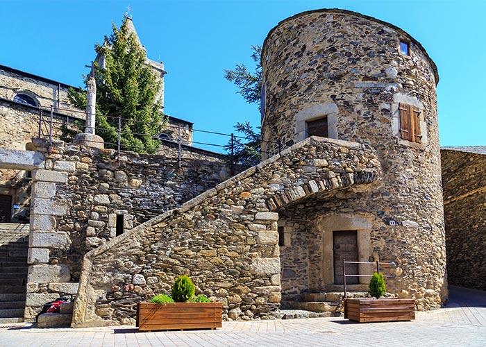Torre de Bernat de So en Llivia