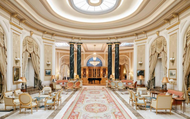 Lobby de El Palace de Barcelona