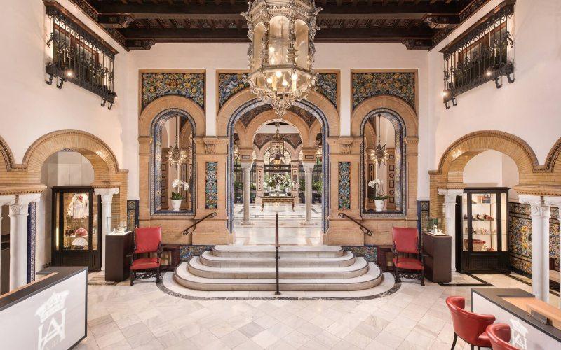 Lobby del Hotel Alfonso XIII