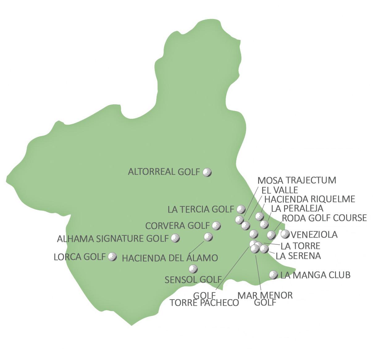 campos golf murcia