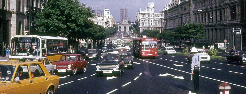 Madrid en los 70 un día cualquiera en España