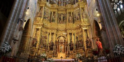 Retablo de la iglesia de Santa María en Viana