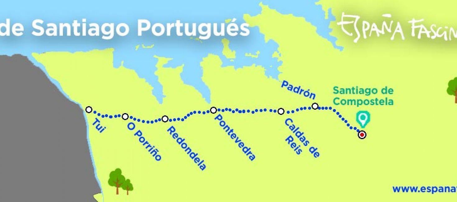 El Camino Portugués de Tui a Santiago