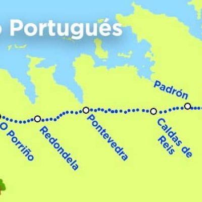 The Portuguese Camino from Tui to Santiago