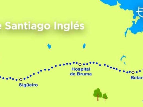 El Camino Inglés: de Ferrol a Santiago