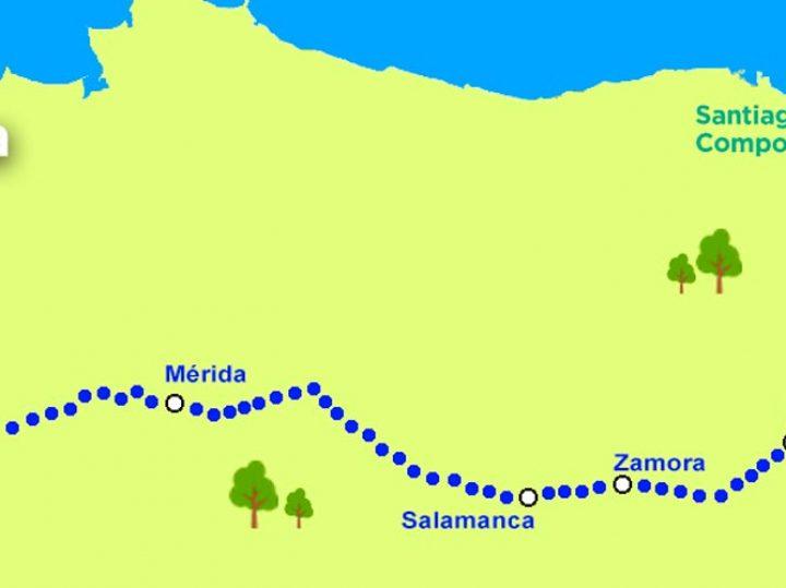 La Vía de la Plata: peregrinación desde el sur
