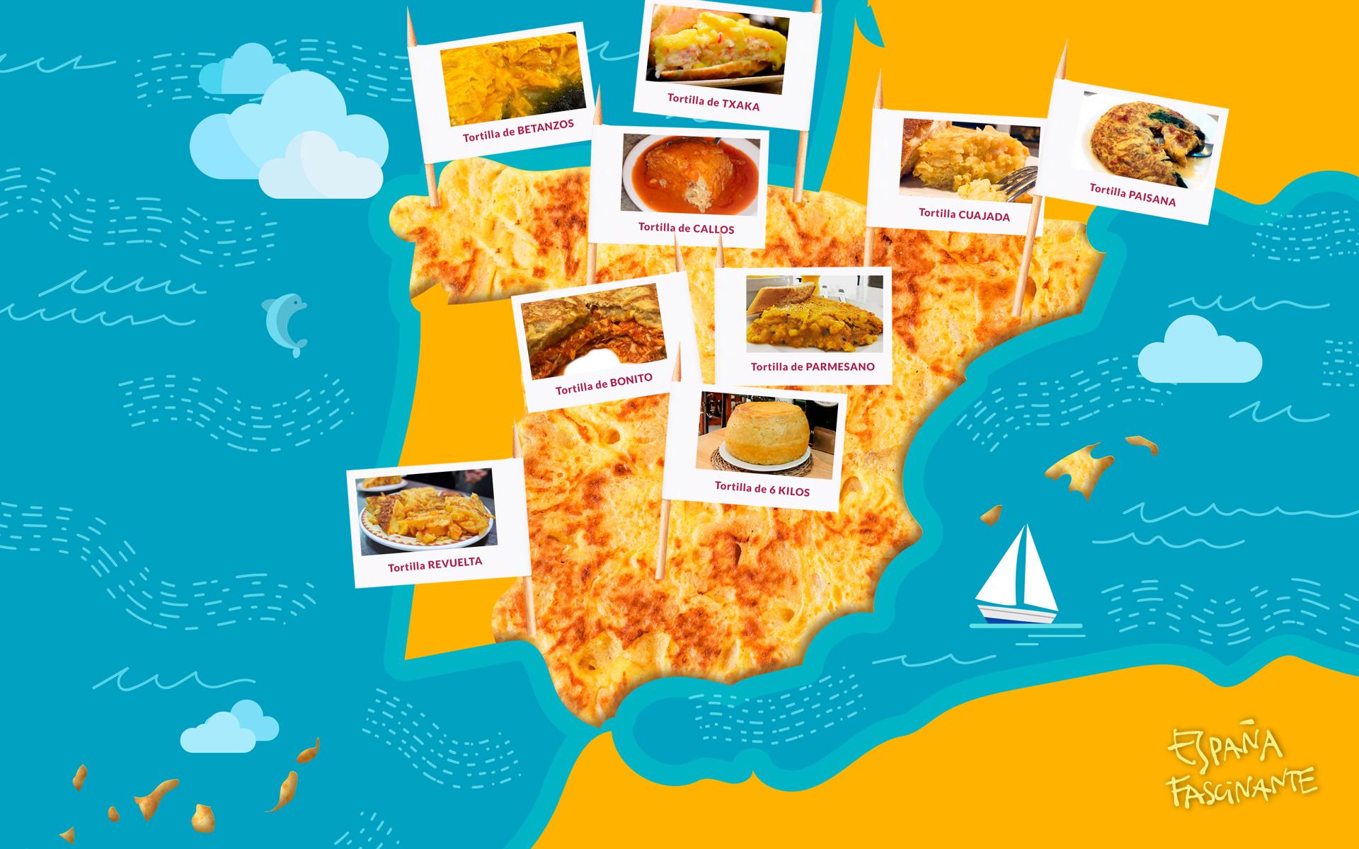 Mejores tortillas de España