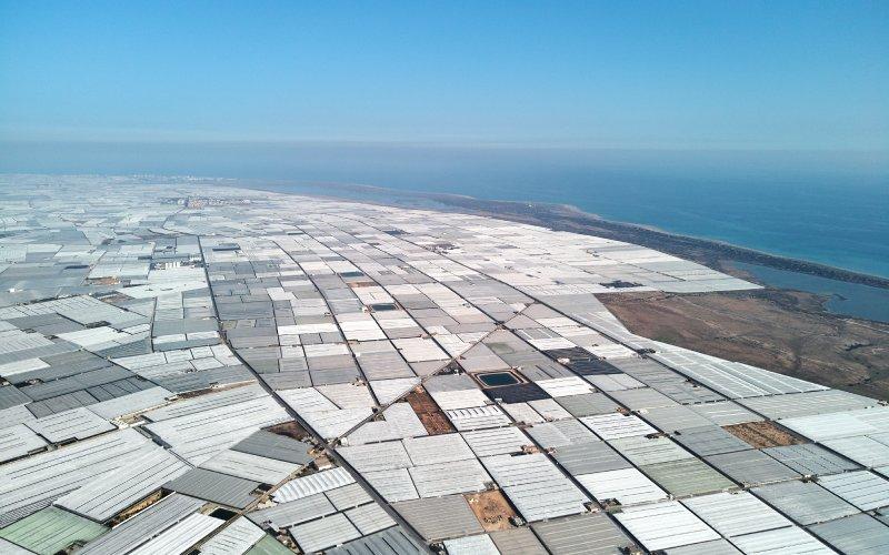 Mar de plástico en Almería