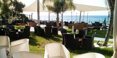comer playa blanca terraza marea