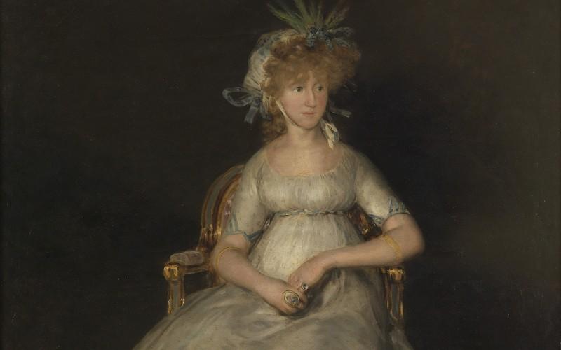 La Condesa de Chinchón, de Francisco de Goya