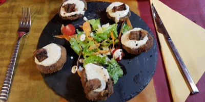 Comer Sant Joan Abadesses restaurante repuntxo mas feixes