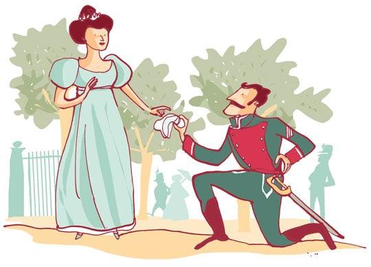 la reina gobernadora maria cristina de borbon y el sargento